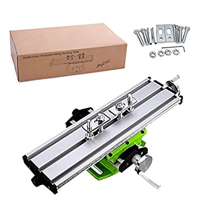Used Milling Machines Power Tools Tools Home Amazon Com >> Multifunction Worktable Milling Working Table Milling Machine Compound Drilling Slide Table For Bench Drill