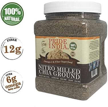 El orgullo de la India harina de harina de semilla de chía negro ...