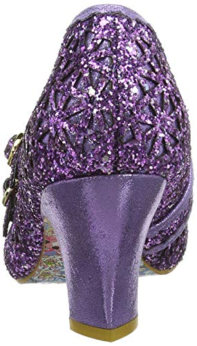 purple Dazzle B Morado Para Dance Merceditas Irregular Choice Mujer Czx0qFqUw