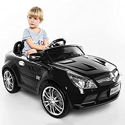 Costzon Kids Ride On Car, 12V Mercedes-Benz SL65, Battery Powered With RC Parental Remote Control