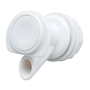 Igloo Push Button Spigot (White)