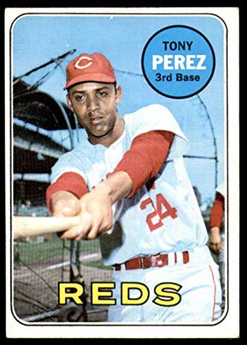 (1969 Topps #295 Tony Perez Excellent+ Reds)