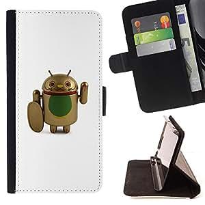 """For Samsung Galaxy Note 5 5th N9200,S-type Combatiente de Cure Cartoon Artificial"""" - Dibujo PU billetera de cuero Funda Case Caso de la piel de la bolsa protectora"""