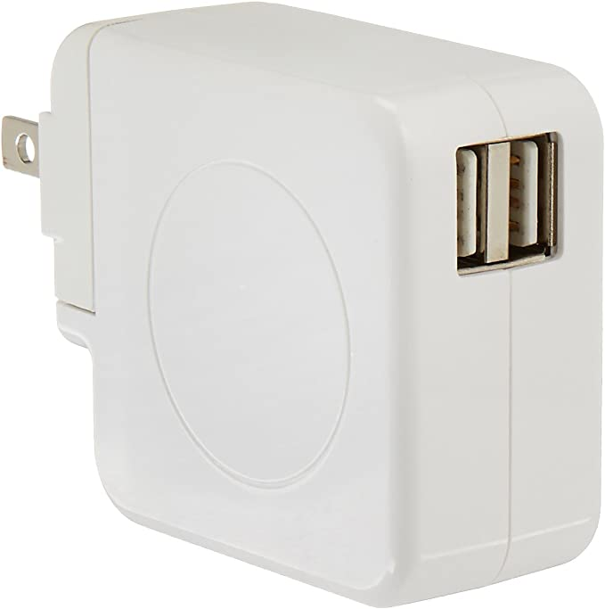 Amazon.com: AmazonBasics Cargador de pared USB dual ...