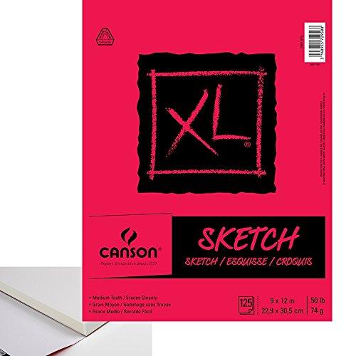 Sandylion Biggie Sketch Pads 9 in. x 12 in. pad of 100
