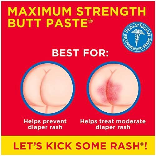 510SIPvH8NL. AC - Boudreaux's Butt Paste Maximum Strength Diaper Rash Ointment, 14 Oz Jar