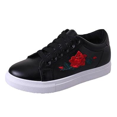beautyjourney Scarpe basse sneakers estive eleganti donna scarpe da  ginnastica donna scarpe da corsa donna Sportive 27ecd345f9f
