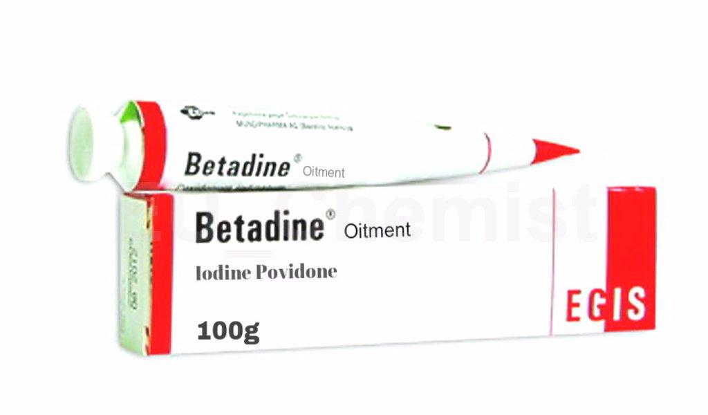 BETADINE 100g ANTISEPTIC POVIDONE IODINE OINTMENT CREAM CUTS BURN, WOUND