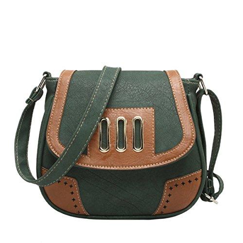 Retro Bag Cross Body Bag Pu Leather Mini Messenger Bag Women Shoulder Available In 9 Colors G