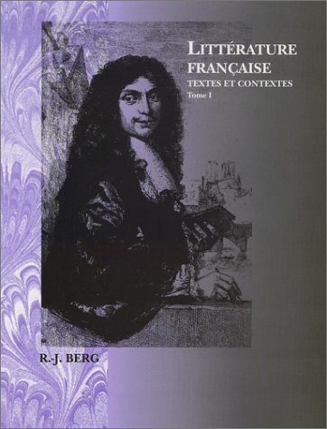Litterature Francaise,Tome I