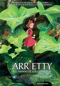Arryety Y El Mundo De Los Diminutos (Bd) [Blu-ray]