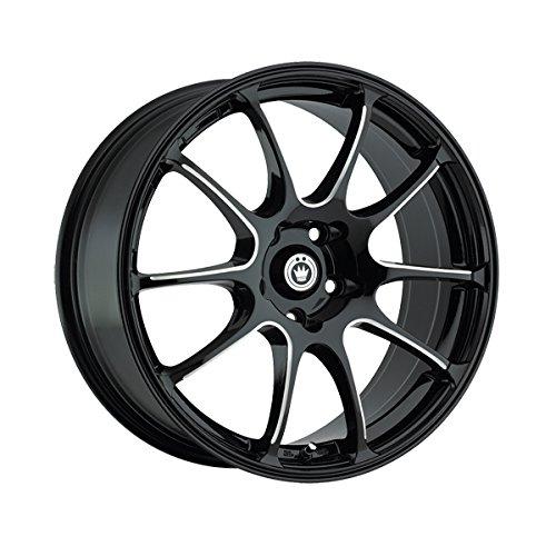 Konig 24B Illusion 18×8 5×114.3 +45mm Black/Blue Wheel Rim