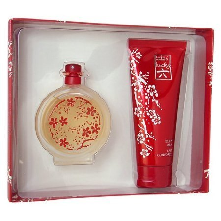 Lucky Number 6 Fragrance Set for Women (Eau De Parfum Spray - 3.4 oz + Body Milk - 6.7 ()