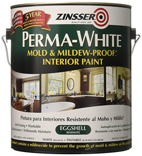 Perma White Mold and Mildew Proof Interior Paint Eggshell