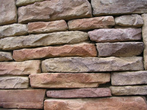 1 Set of 16 Molds to Make Drystack Ledgestone Rocks, ODL-02 (Pavers Patio Over Concrete)