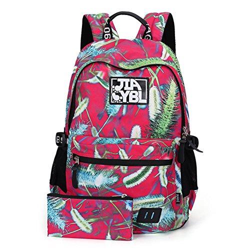 Impreso bolso de hombro, mochila secundaria junior-C C