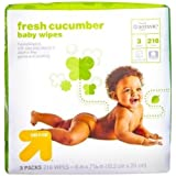 up & up™ Cucumber Baby Wipes, 216 Count