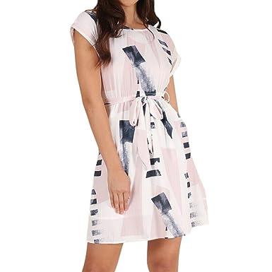 Vectry Kleid Damen Kleid Brautjungfernkleid Petticoat Lange Kleid