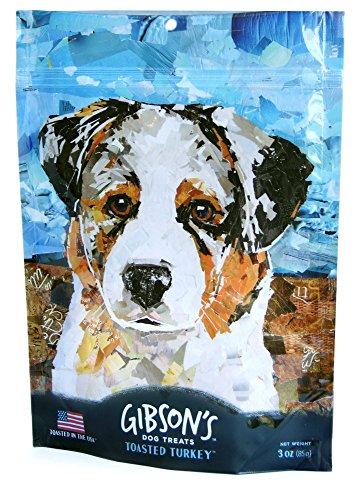 Gibson's Toasted Turkey – Soft Jerky Dog Treats, 3oz