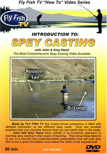 Introduction To Spey Casting with John & Amy (Spey Casting Dvd)