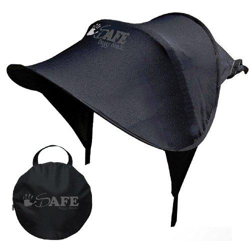 Safe Universal Sonnenschutz Fur Buggy Mit Aufbewahrungskorb Schwarz