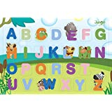 It's A Jungle In My Room Wooden Alphabet Puzzle (26 Piece)