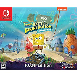 Spongebob Squarepants: Battle for Bikini Bottom - Rehydrated - F.U.N. Edition (Nintendo Switch) - Nintendo Switch F.U.N. Edition