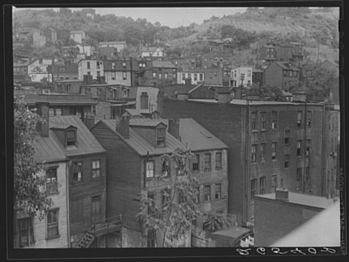 Pittsburgh County Pennsylvania - HistoricalFindings Photo: Allegheny County,Pittsburgh,Pennsylvania,PA,Farm Security Administration,FSA