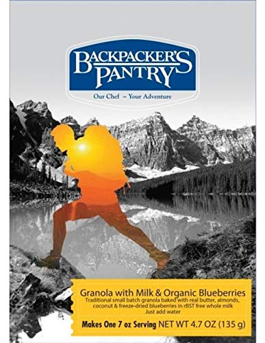 BACKPACKERS PANTRY Granola With Milk & Blueberries, 4.7 -