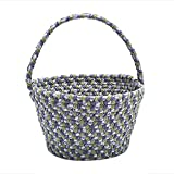 Colonial Mills Easter Home Decorative Soft Blend Basket Lilac - 8x12x7, NEW