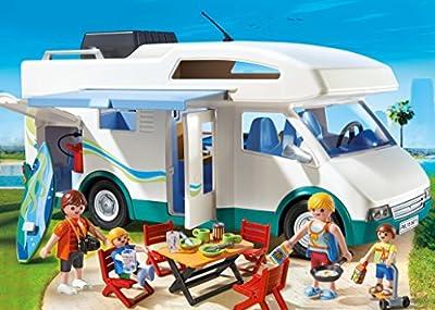 PLAYMOBIL Summer Camper Playset from Playmobil - Cranbury