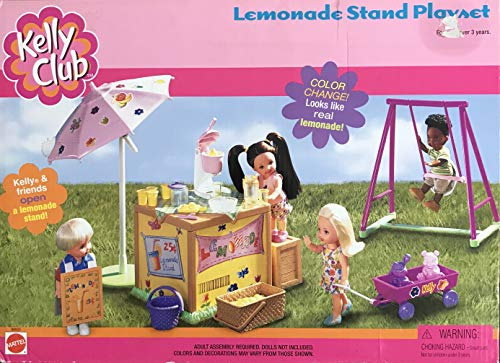Barbie KELLY Club LEMONADE STAND Playset w COLOR CHANGE for sale  Delivered anywhere in USA