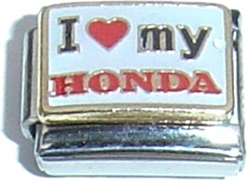 I Love My Honda Italian Charm