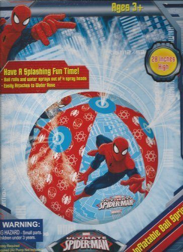 Spider Man 3 Muscle Costumes (Spiderman Giant Water Sprinkler Ball)