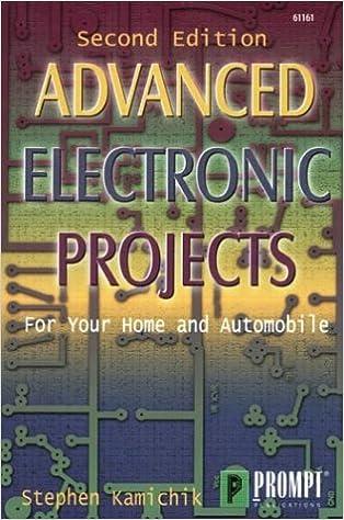 Advanced Electronics Projects, 2E: Stephen Kamichik: 9780790611617 ...