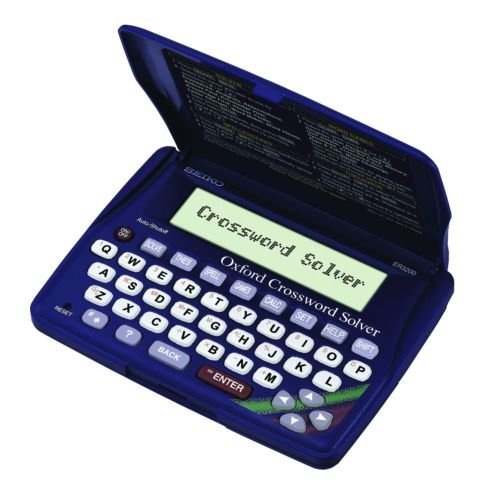 Brand New Seiko Electronic Thesaurus Crossword Solver Bnib OnlineDiscountStore