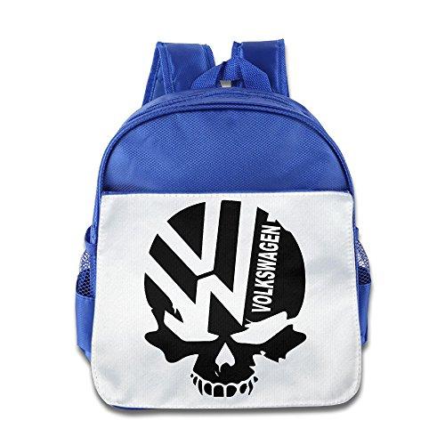 volkswagen-logo-with-punisher-skull-toddler-children-school-bags-royalblue