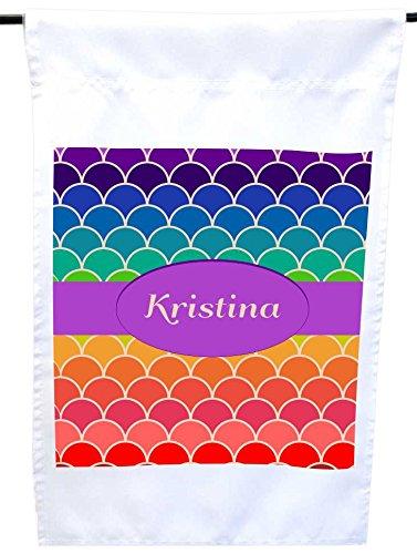 Rikki Knight Kristina Name on Rainbow Scallop House or Ga...