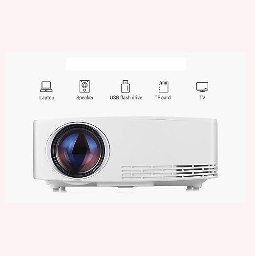 AI LIFE Proyector de Video Full HD 1080p (1280 x 720) portátil ...