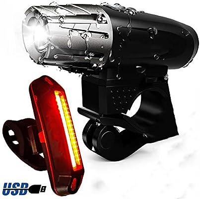 TDYBY Kit De Luces para Bicicleta, (Paquete De 2) Ultra Brillante ...