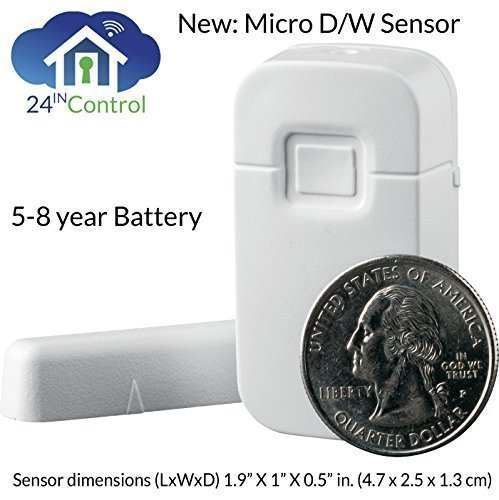 Interlogix Learn Mode Micro Door Window Detector White