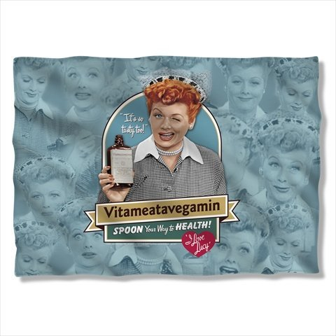 I Love Lucy Vitameatavegamin Sublimation Pillow Case
