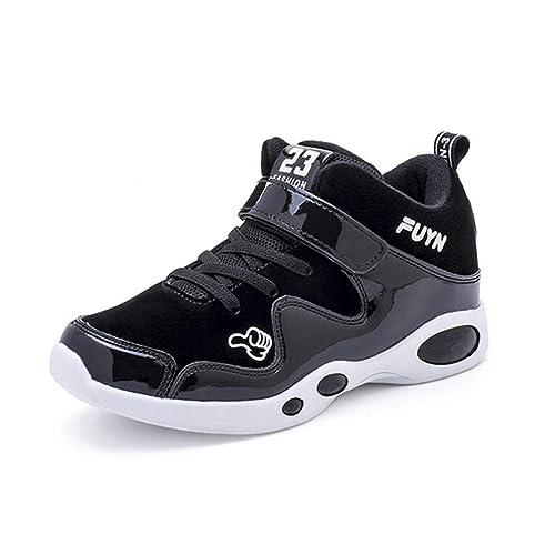 Zapatos de Baloncesto Antideslizantes para niños Zapatillas de Deporte para Correr para niños Zapatillas cómodas para Caminar al Aire Libre: Amazon.es: ...