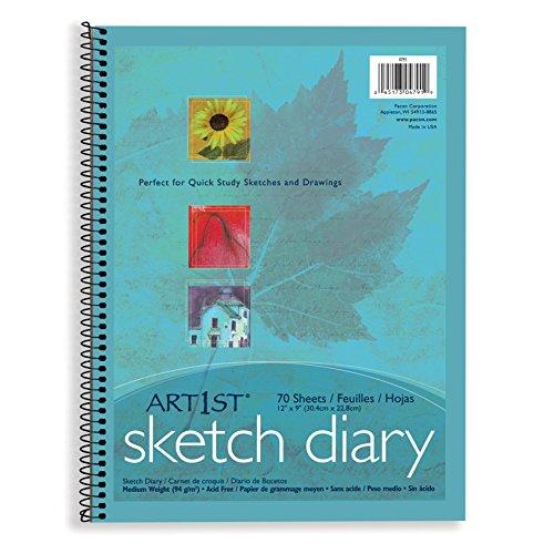 (Art1st PAC4791BN Sketch Diary, Lightweight, 12