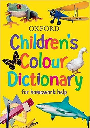 Amazon.com: Oxford Children's Colour Dictionary 2006: For Homework ...
