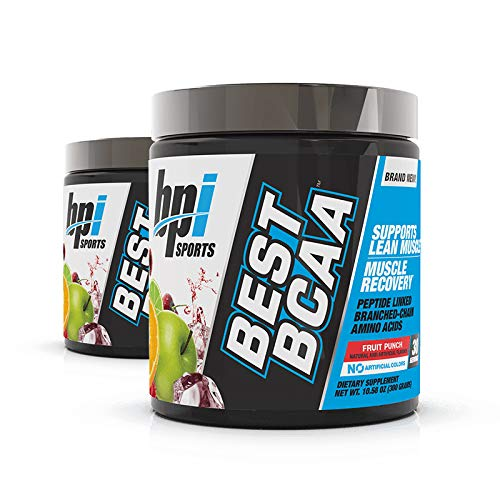 BPI Sports, Best BCAA, Fruit Punch, 10.58 oz (300 g) - 2pc