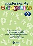 Cuaderno de Ortografía 9 (Castellano - Material Complementario - Cuadernos De Ortografía)
