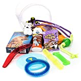 Dog Toys Set - Chewable Toys, Rope Ball, Dog Oatmeal Shampoo, Food for Dogs, Cleansing Towels for Pets - storage organizer– For Small to Large Pets – 13 Pack Gift Toy Set by Escest