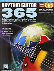 Rhythm Guitar 365: Daily Exercises for Developing, Improving, and Maintaining Rhythm Guitar Technique