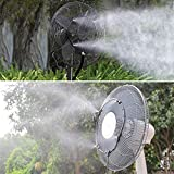 Fan Misting Kit for DIY Cool Patio Breeze with